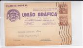 PORTUGAL - 1937 - CARTE POSTALE COMMERCIALE  De LISBOA Pour AVIGNON - 1910-... République