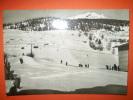Torgnon Valle D'aosta Partenza Dello Ski Lift E Campi Di Neve Non Viaggiata - Italia