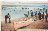 20015 Deauville (14 France) Plage Fleurie. 4 Artaud -barque Bateau Peche Chariot Colorisée Tampon Convoyeur - Pêche