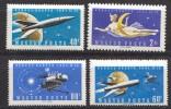 Ungarn; 1961; Michel 1758/61 **; Rakete Zur Venus - Nuevos