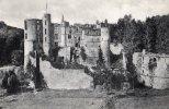 25003   Lussemburgo,  Beaufort,  Les  Ruines,  Promenade H.,  VG  1956 - Cartoline