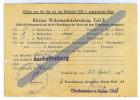 Fahrschein - Titre De Transport - ASCHAFFENBURG - 28/04/1944 - 1939-45