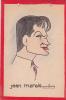 Dessin De Jean MARAIS Vu Par Garry 24x16 Cm Dessin Original / Carton . Acteur Cinema Cocteau (voir Aussi Celui Par Déro)