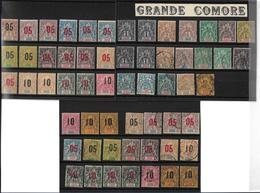 Grande Comore, Collection De Timbres Anciens, Cote: 307€