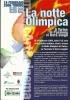 CARTOLINA  PUBBLICITARIA  - NOTTE OLIMPICA   -  Anno 2006. - Manifestazioni