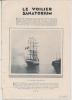"""Feuillet  Article Actualité De 1927 """" Le VOILIER SANATORIUM """" Avec Les Dr LOIR Et Léon BERNARD  Professeur - Documents Historiques"""
