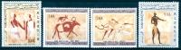 Algeria 1966 Tessili Paintings MNH - Lot. 530 - Algeria (1962-...)