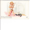 Tuck Oilette Honeymoon Series No 8636 Cupid Married Another Couple - Marriages