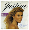 45 Tours JUSTINE Derniers Baisers Dédicacé - Vinyl Records