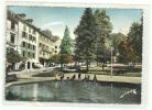 CPM EAUX-BONNES(64)16/7/62-le Jardin Darralde-enfants-grand Format - Other Municipalities