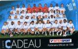 CARTE CADEAU...INTER SPORT...OLYMPIQUE DE MARSEILLE...RARE!!!!!  VOIR SCANNER - Frankrijk