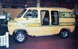 Chevy Van 1977 With VANTASTIC Double-Bay Window Unused - Passenger Cars