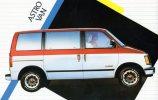Astro Van - A Popular Chevy In The 1990s Unused - Passenger Cars