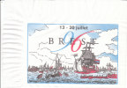 Serviette Papier Brest 96, 13-20 Juillet - Reclameservetten