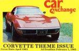 Corvette Theme Issue, Car Exchange 1983 Unused - Passenger Cars