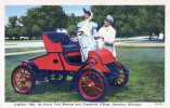 Cadillac 1903 Henry Ford Museum, Michigan, CT Art- Colortone Unused - Passenger Cars