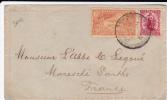 NEW ZEALAND - 1901 -  ENVELOPPE De CHRISTCHURCH  Pour La SARTHE - New Zealand