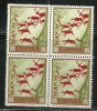 Spain Espana Espanha 1967 Stamp Day Paleolithic And Mesolithic Paintings  Block Of 4 MNH - Giornata Del Francobollo