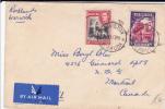 BERMUDA - 1939 -  ENVELOPPE Par AVION De HAMILTON Pour MONTREAL (CANADA) - Bermudes
