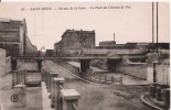 SAINT OUEN 81 AVENUE DE LA GARE LE PONT DU CHEMIN DE FER 1933 - Saint Ouen