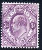 Cape Of Good Hope 1902-04. 3d Magenta. SACC 69*, SG 74*. - Südafrika (...-1961)