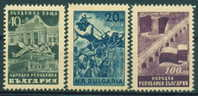 0726 Bulgaria 1948 Romanian Bulgarian Friendship **MNH/Bulgarisch-Rumanischer Freundschaftspakt / BUILDING BRIDGE BATTLE - Nuovi