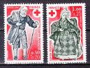 FRANCE / 1977 / Y&T N° 1959/1960 ** : Croix-Rouge (Chemineau & Guérisseuse) - Gomme D'origine Intacte - Neufs