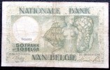 Billet De 50 Francs Ou 10 Belgas Belgique 1944 - Belgium