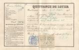 Quittance De Loyer Au Nom De M. MADELIN De Paris Et De 1914 - Non Classés