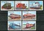 1985 Burkina Faso Trasporti Treni Railways Trains  Set MNH** C85 - Trenes