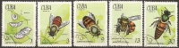 CUBA -- N°1507 à 1511      Serie Complete Obliterée -- 1971  FAUNE - Cuba