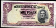 7 URUGUAY -Emitidos Desde 1939 A 1966- Bill. Nº 40-Bco. República O.del Uruguay-1 Bill. De 1000 Term. Nº 489 - Uruguay