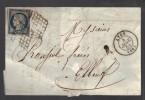 FRANCE N° 4 B Obl. (défaut) S/Lettre Entiére - 1849-1850 Ceres
