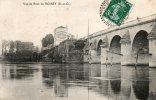 Cpa - 78 - Vue Du Pont De POISSY - Oblitérée 07/06/1910 - Belle Carte  - - Poissy