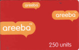 Ghana,, Areeba Prepaid Carte - Ghana