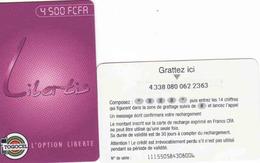 Togo, Libertis Prepaid Carte - Togo