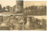 4x Postkaart Kasteel Van Gaasbeek Bij Brussel Chateau De Gaesbeek Lez Bruxelles - Lennik