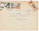 A.E.F. Postal History Cover Registered To France - A.E.F. (1936-1958)