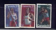 CANADA, 1975, USED. # 664-5-6 Track & Field Sports, Postmark Geraldton On       WYSIWYG - 1952-.... Règne D'Elizabeth II