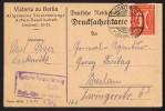 Jan. 1922  MiNr 182 EF Von Laskowitz - Briefe U. Dokumente