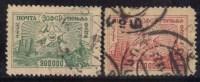 Russie 1923 N°Y.T. :  13 Et 16 Obl.
