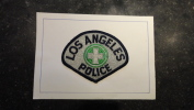 12 - Insigne De Manche En Tissu Police De Los Angeles - Police & Gendarmerie