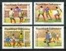 "1989 Gabon ""Italia 90"" Coppa Del Mondo World Cup Coupe Du Monde Calcio Football Set MNH** C99 - Wereldkampioenschap"