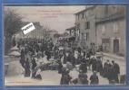 Carte Postale 31. Saint-Gaudens  Jour De Marché  Boulevard De L'Ouest Très Beau Plan Animé - Saint Gaudens