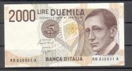 Banconota 2.000 Lire - Marconi - FDS - 2000 Lire
