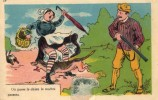 CPA - Le Chasseur - Carte Humoristique - Hunting