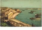MALTE --Entrance Of Port - Malta