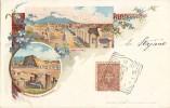 D970- Gruss Aus Pompei - Napoli - F-p- Viaggiata 1901 - Pompei