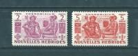 Nouvelles- Hébrides: 153/ 154 * - French Legend