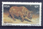 South Africa 1976, Mi 501  Wild Animals Mnh** Diceros Neushoorn - Non Classés